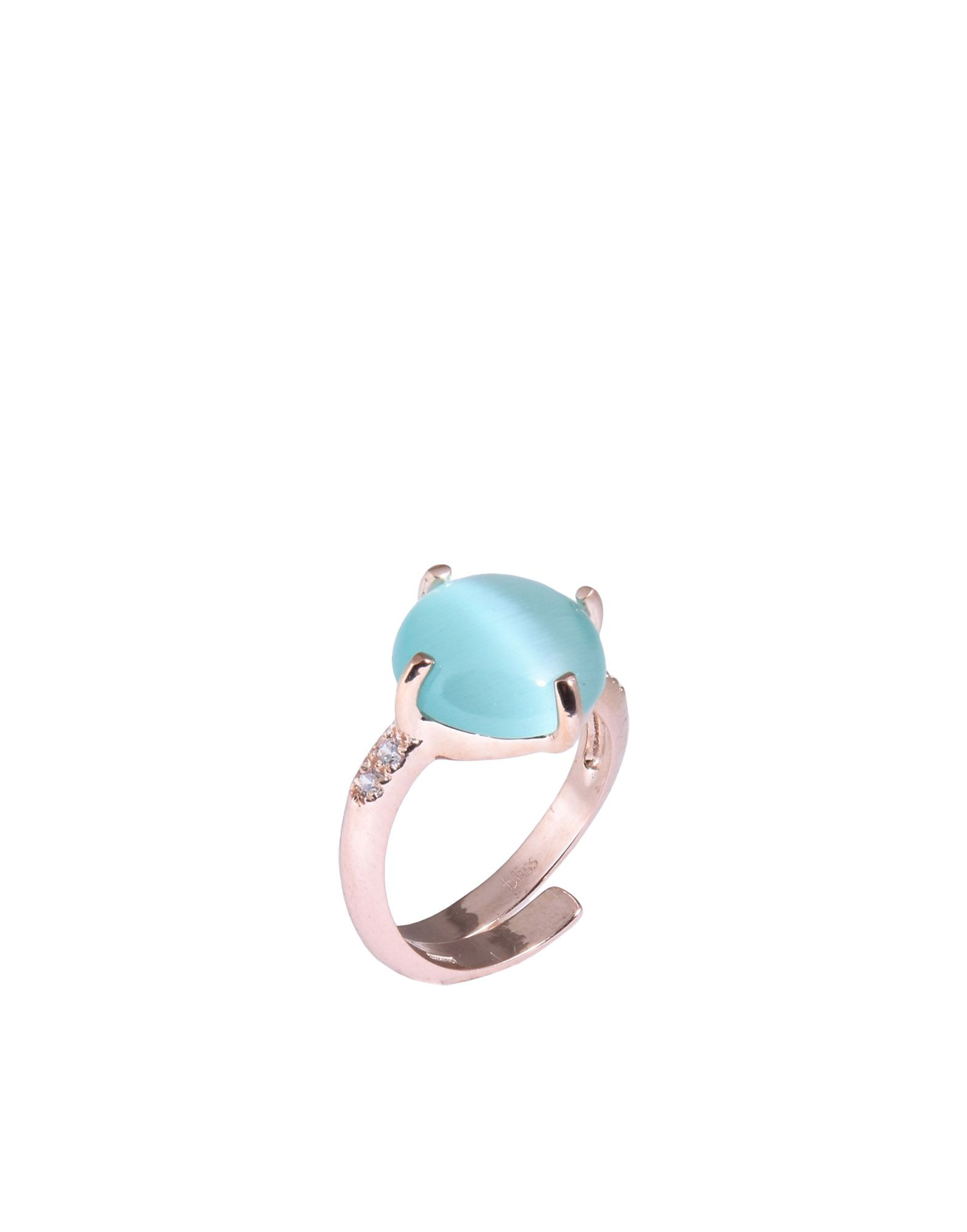 《送料無料》BLISS レディース 指輪 カッパー 14 シルバー925/1000 / 合成石