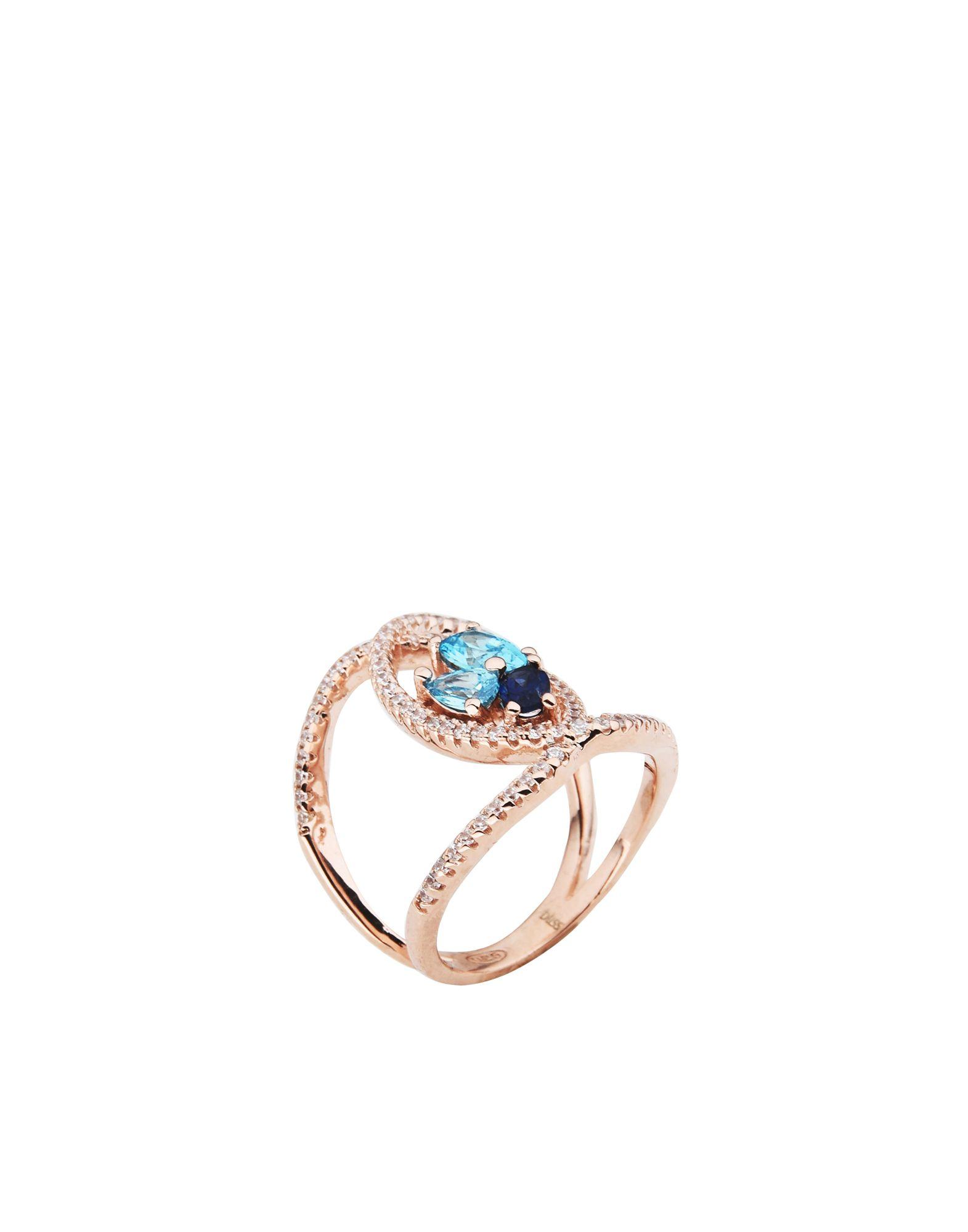 《送料無料》BLISS レディース 指輪 カッパー 12 シルバー925/1000 / キュービックジルコニア