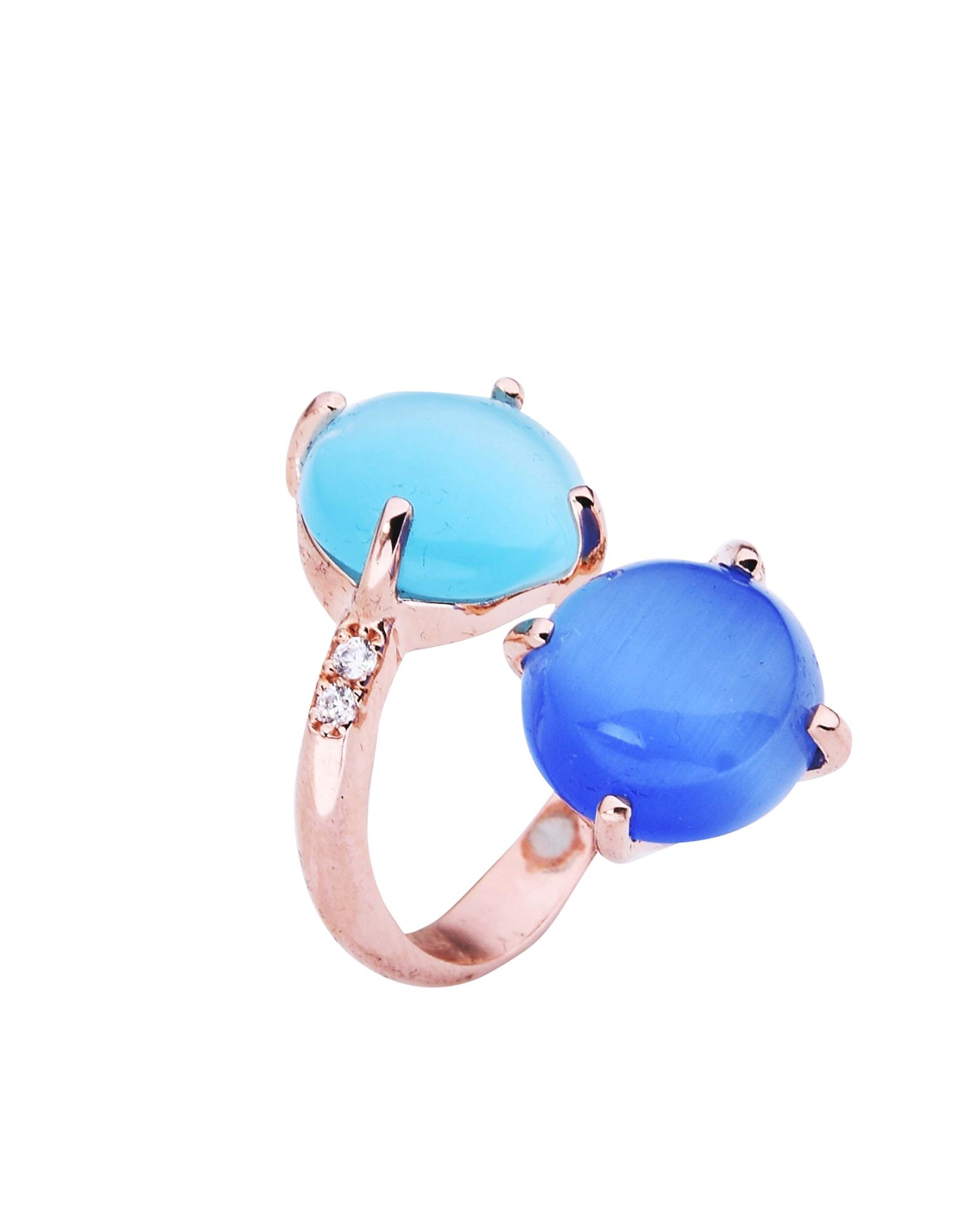 《送料無料》BLISS レディース 指輪 カッパー 12 シルバー925/1000 / 合成石