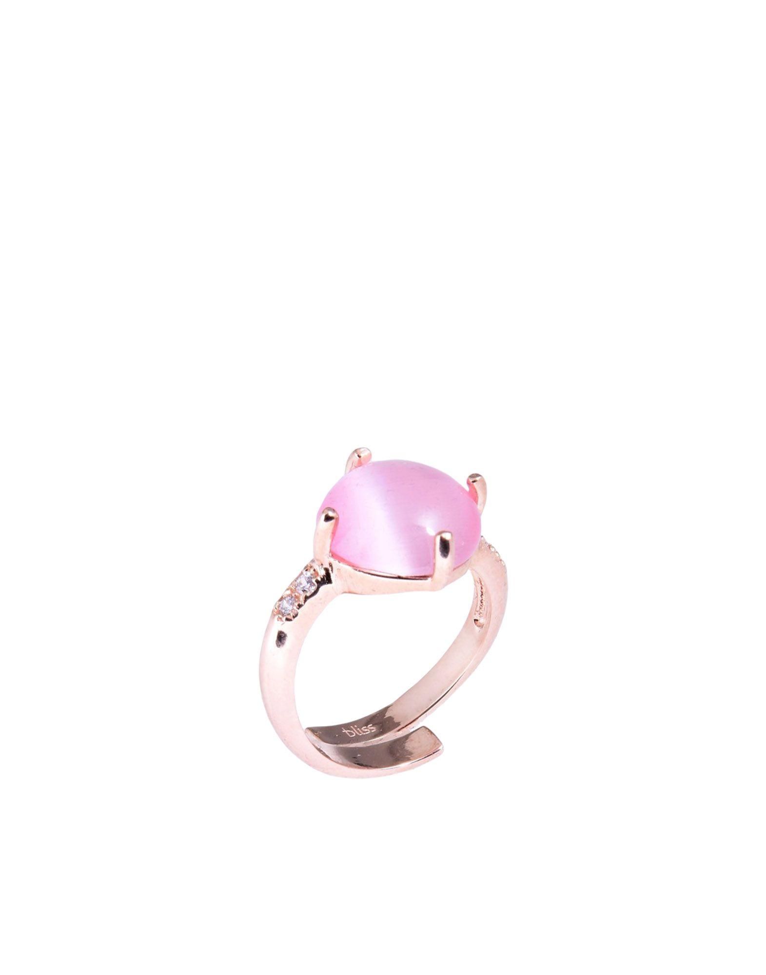 《送料無料》BLISS レディース 指輪 ゴールド 14 シルバー925/1000 / 合成石