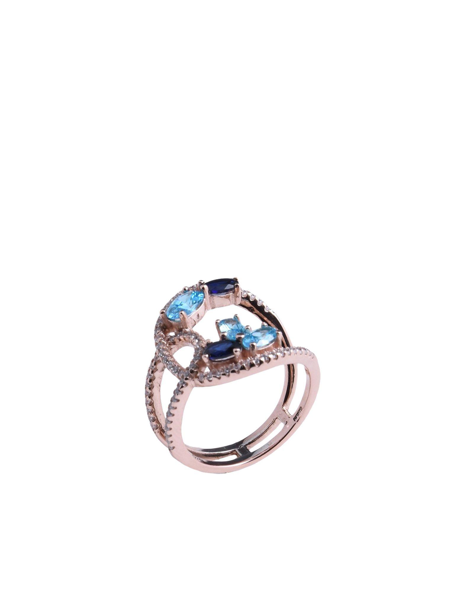 《送料無料》BLISS レディース 指輪 カッパー 16 シルバー925/1000 / キュービックジルコニア