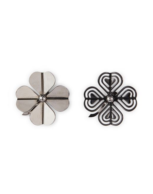 ASYMMETRICAL COSMIC CLOVER EARRINGS - Lanvin