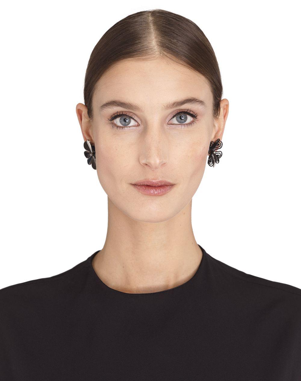 ASYMMETRICAL COSMIC CLOVER EARRINGS - Lanvin