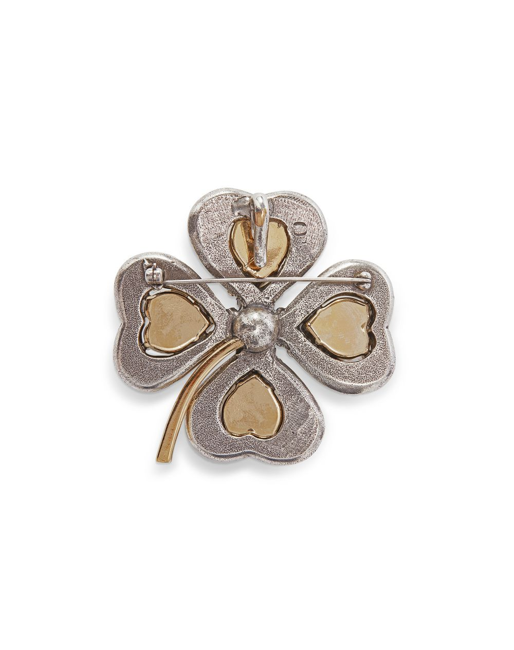 COSMIC CLOVER BROOCH/NECKLACE   - Lanvin