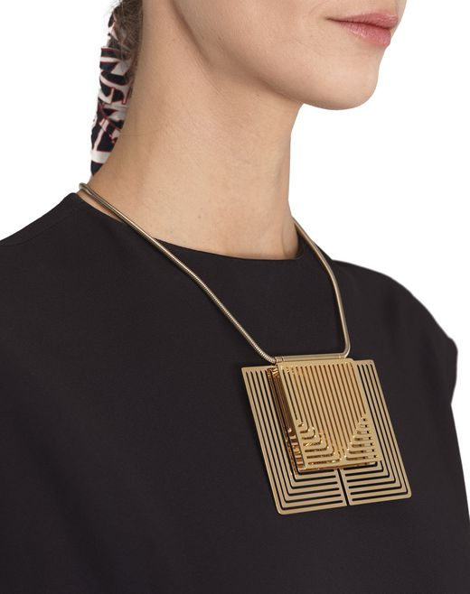lanvin beyond necklace women