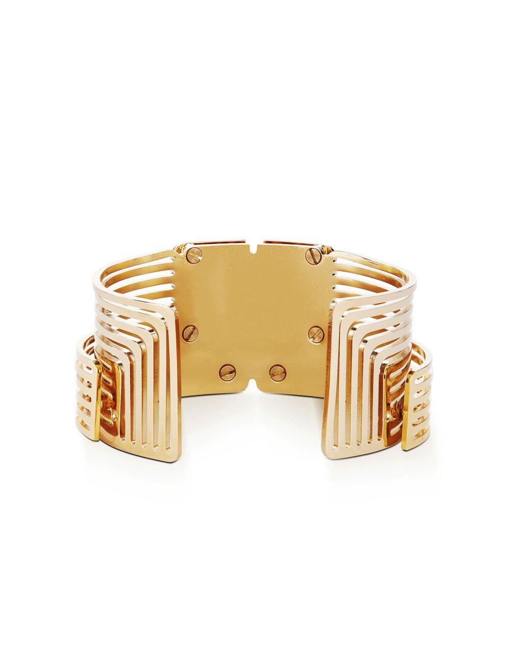 Lanvin Beyond Cuff Bracelet Gold mamcws