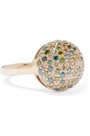 CAROLINA BUCCI 18-karat gold diamond ring