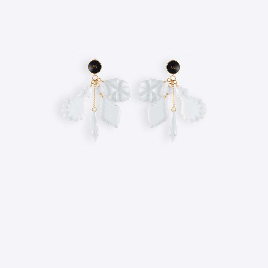 BALENCIAGA Pic Pendant Earrings Earring Woman f