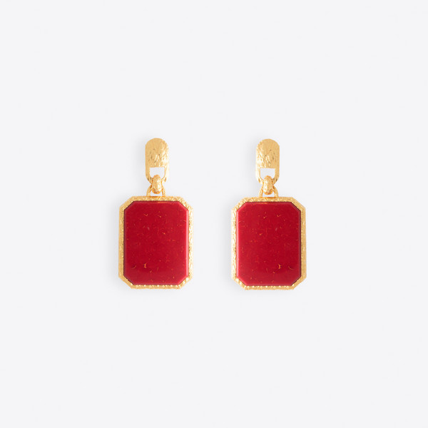 Square Large Earrings