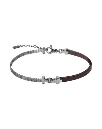 JACK&CO Herren Armband Dunkelbraun 925/1000 Silber Leder