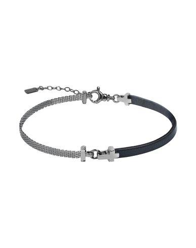 JACK&CO Herren Armband Dunkelblau 925/1000 Silber Leder
