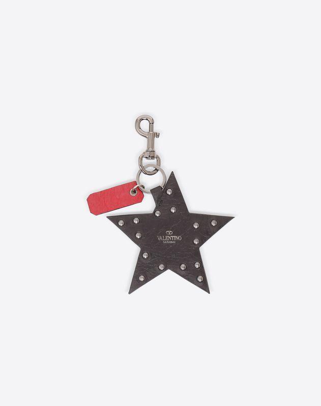 Rockstud Spike Star Keyring