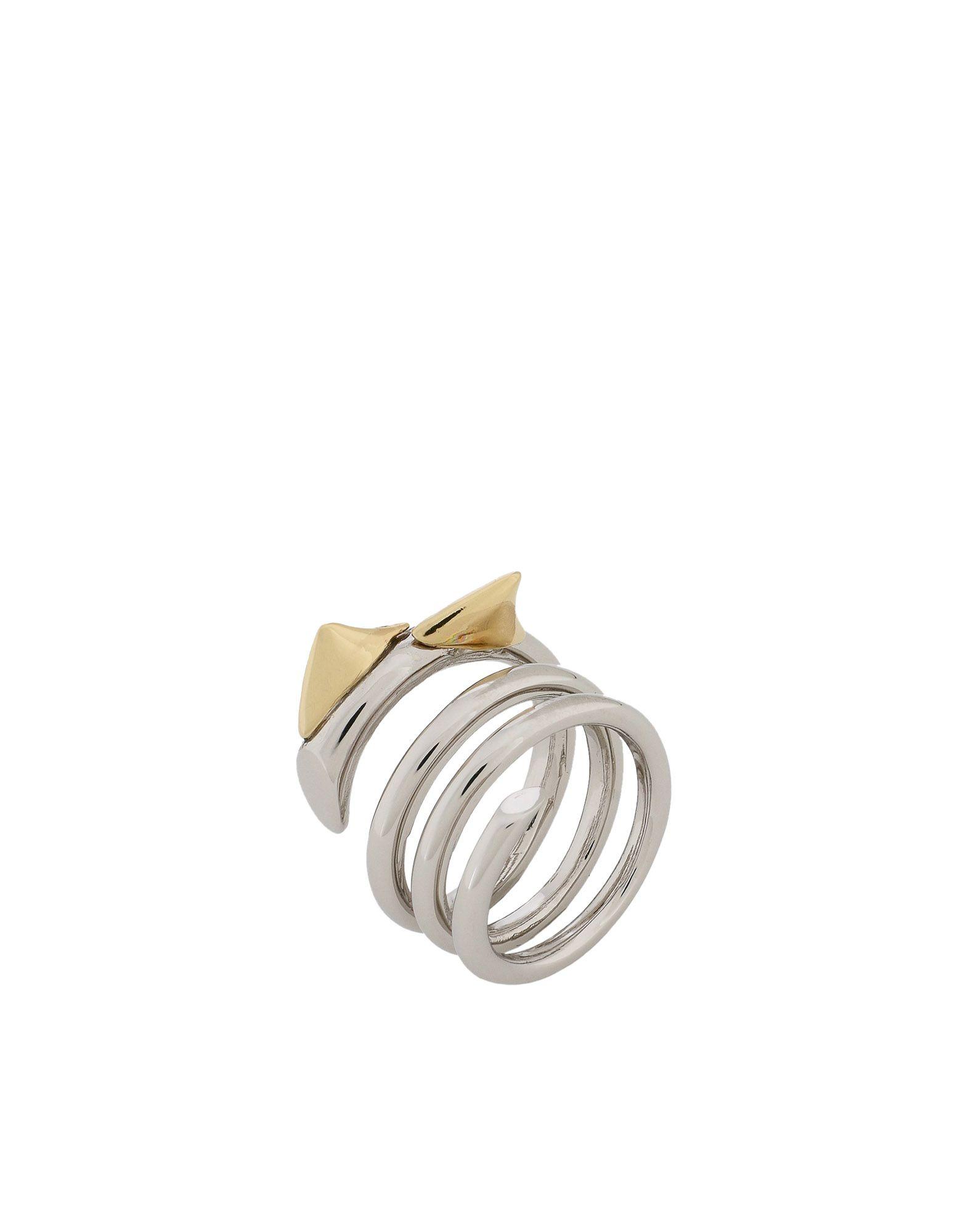 《期間限定 セール開催中》SCHIELD レディース 指輪 シルバー 12 真鍮/ブラス / 亜鉛 ROSES THORNS RING B