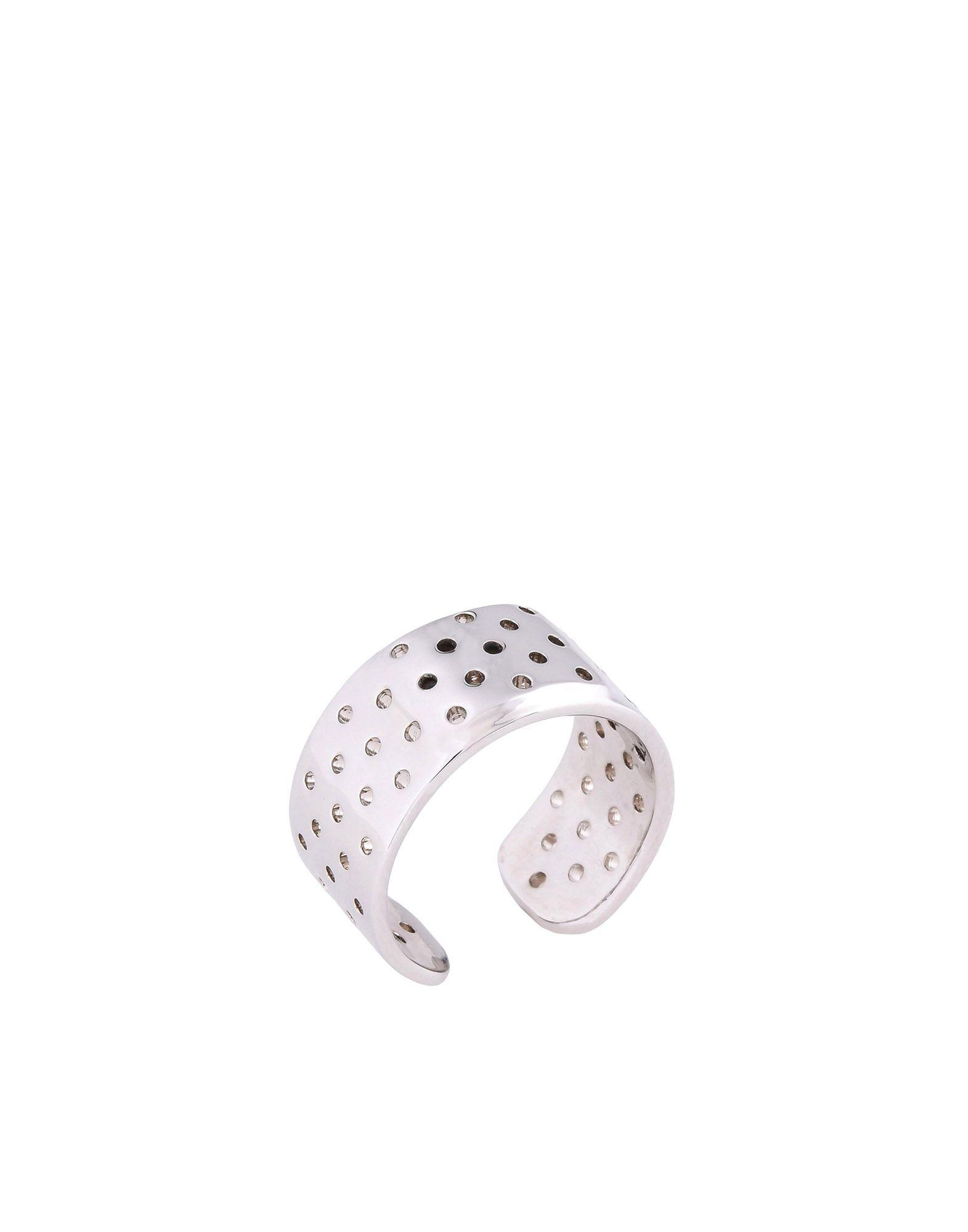 《期間限定 セール開催中》SCHIELD メンズ 指輪 シルバー 18 真鍮/ブラス / 亜鉛 LITTLE PLASTER RING
