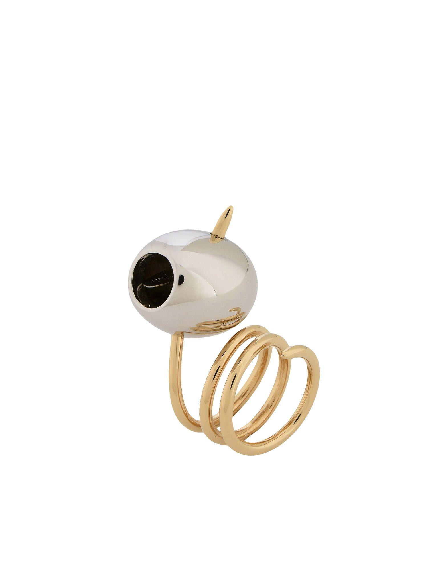 《期間限定 セール開催中》SCHIELD レディース 指輪 シルバー 12 真鍮/ブラス / 亜鉛 OLIVE RING
