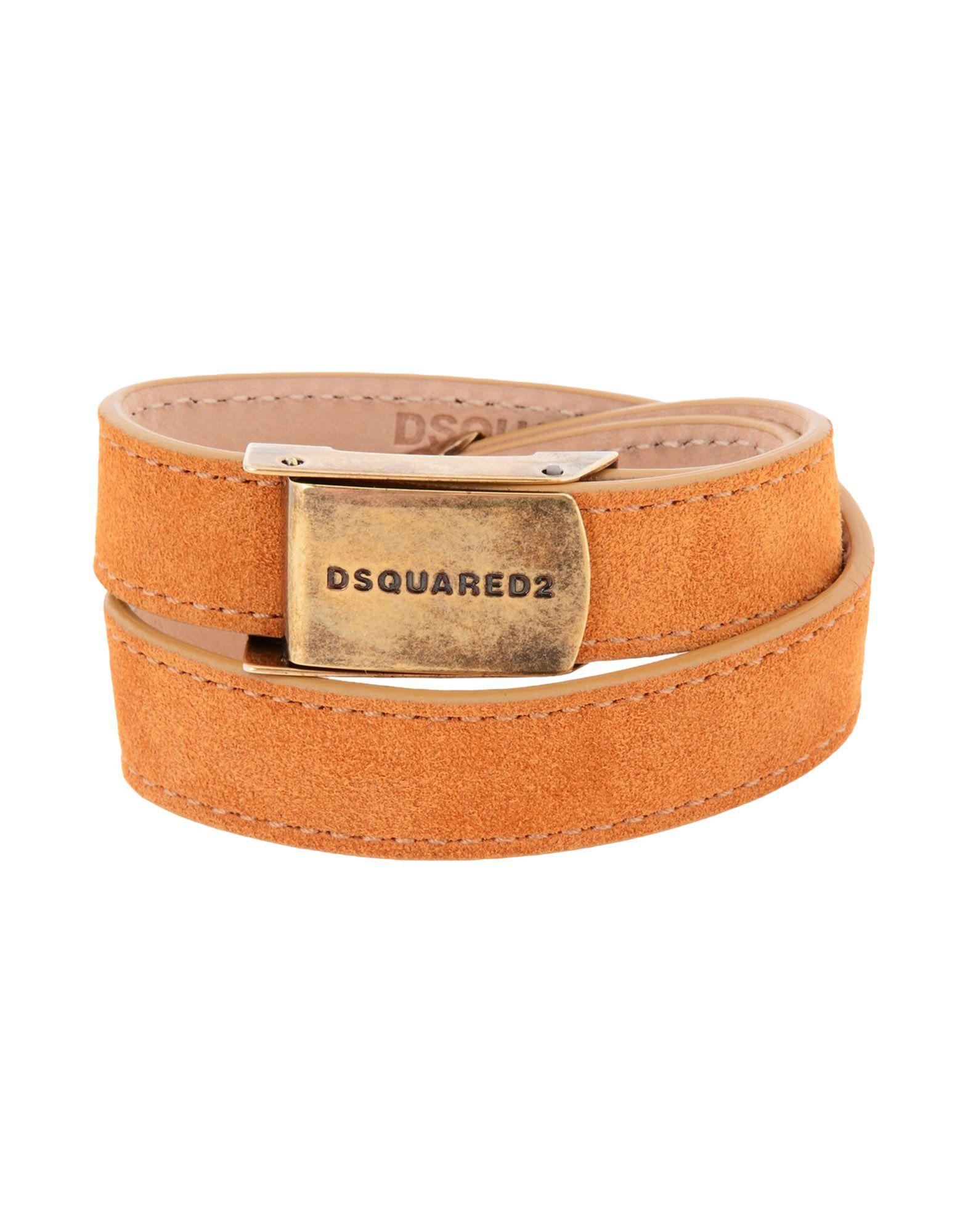 DSQUARED2 レディース ブレスレット タン 革