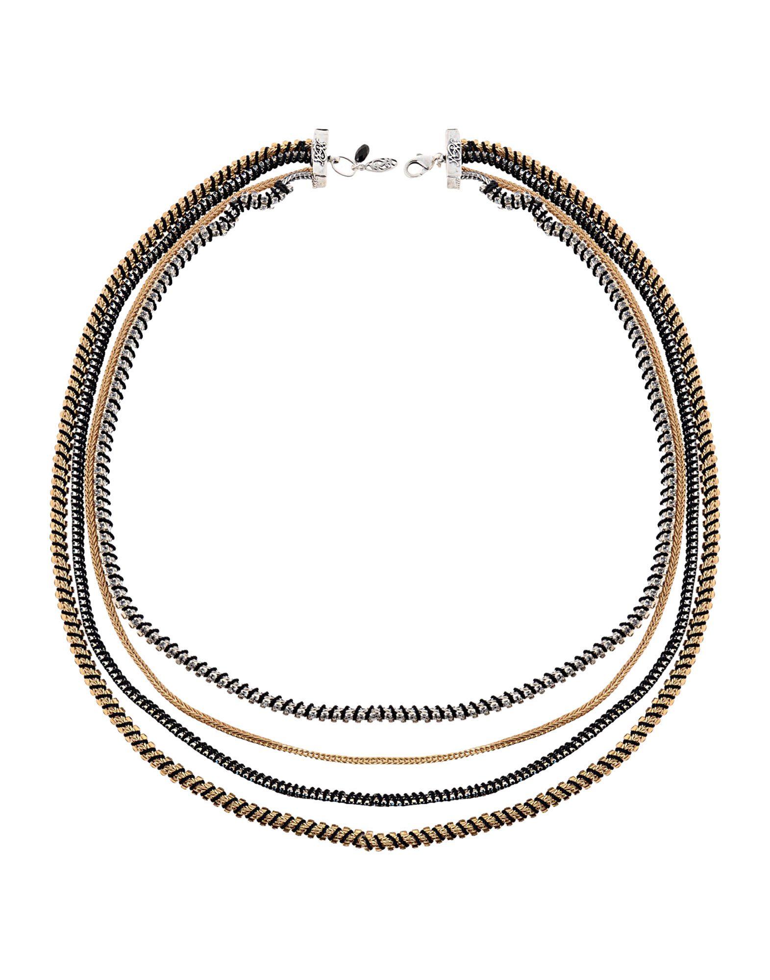 《期間限定 セール開催中》MIQUELLA レディース ネックレス ゴールド 金属 / 紡績繊維