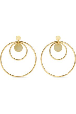 LUV AJ Gold-tone earrings