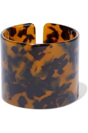 0333aef4c866 KENNETH JAY LANE Tortoiseshell resin cuff ...
