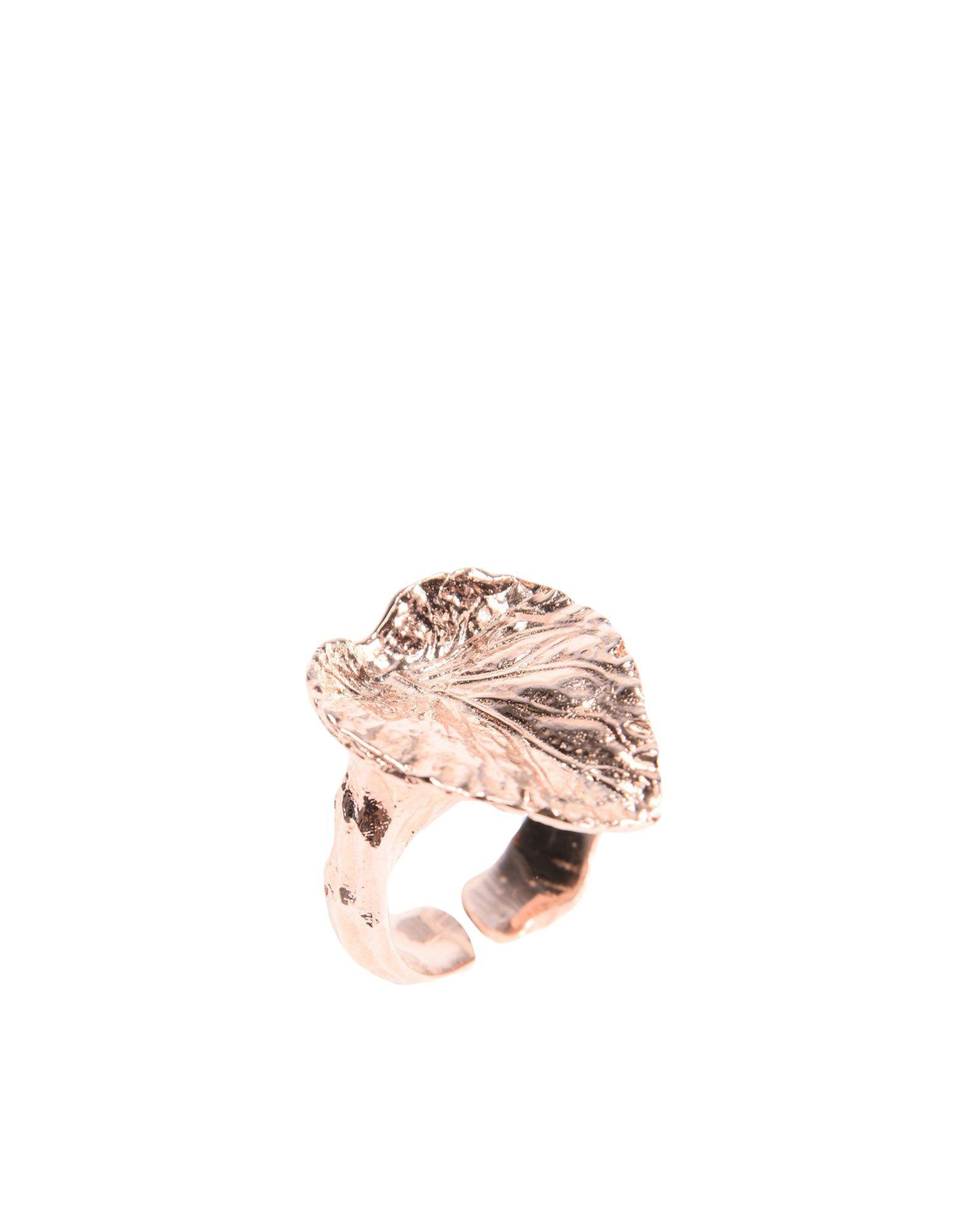 《セール開催中》ILENIA CORTI VERNISSAGE レディース 指輪 カッパー one size シルバー925/1000