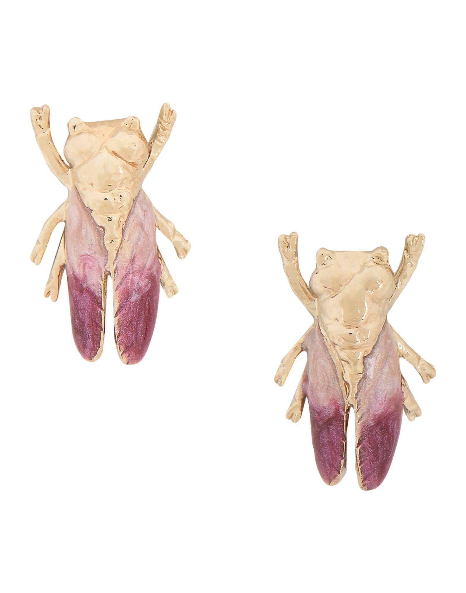 ILENIA CORTI VERNISSAGE Earrings in Gold