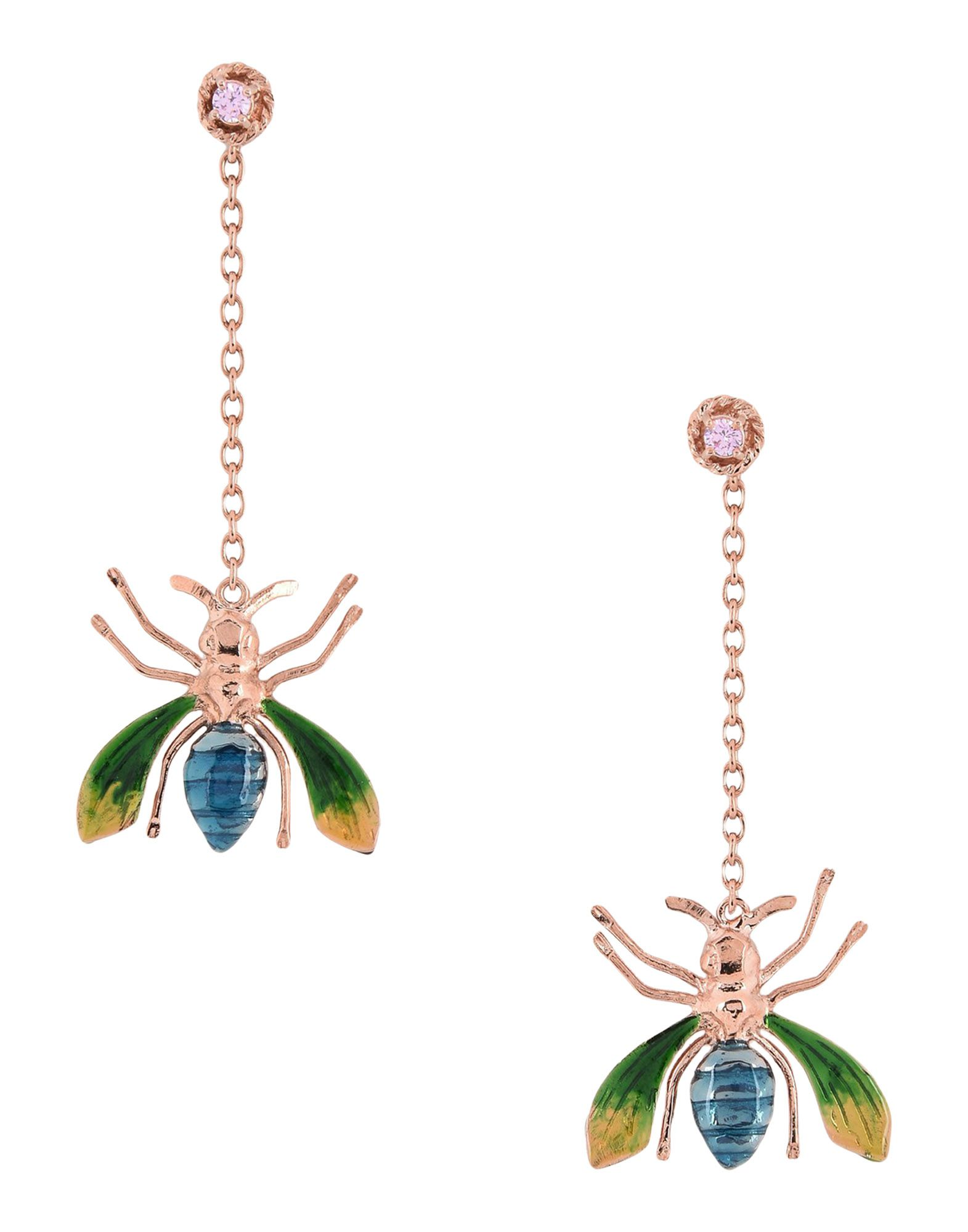ILENIA CORTI VERNISSAGE Earrings in Copper
