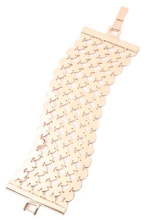 LUV AJ Triple Disco Fever rose gold-plated bracelet