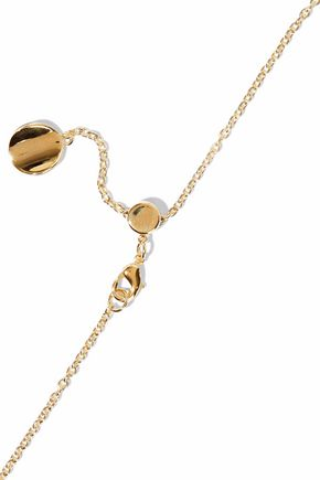 Elizabeth & James Elizabeth And James Woman Gold-tone, Silver-tone And Rose Gold-tone Necklace Gold Size