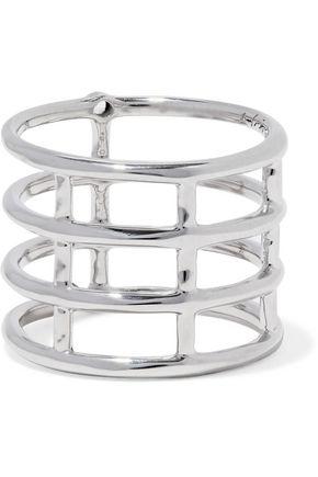 Elizabeth And James Woman Silver-tone Ring Silver Size 7 Elizabeth & James YDmDeT9Y