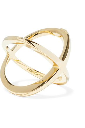 ELIZABETH AND JAMES Gold-tone ring
