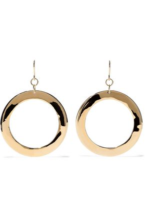ELIZABETH AND JAMES Gold-tone earrings