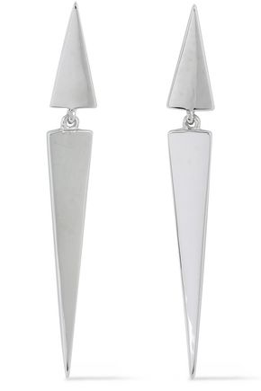 ELIZABETH AND JAMES Silver-tone earrings