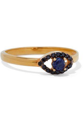 AAMAYA by PRIYANKA Gold-tone, crystal and stone ring