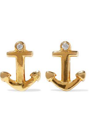 AAMAYA by PRIYANKA Gold-tone crystal earrings