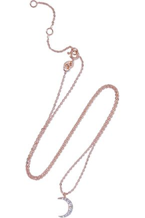 AAMAYA by PRIYANKA Rose gold-tone crystal necklace