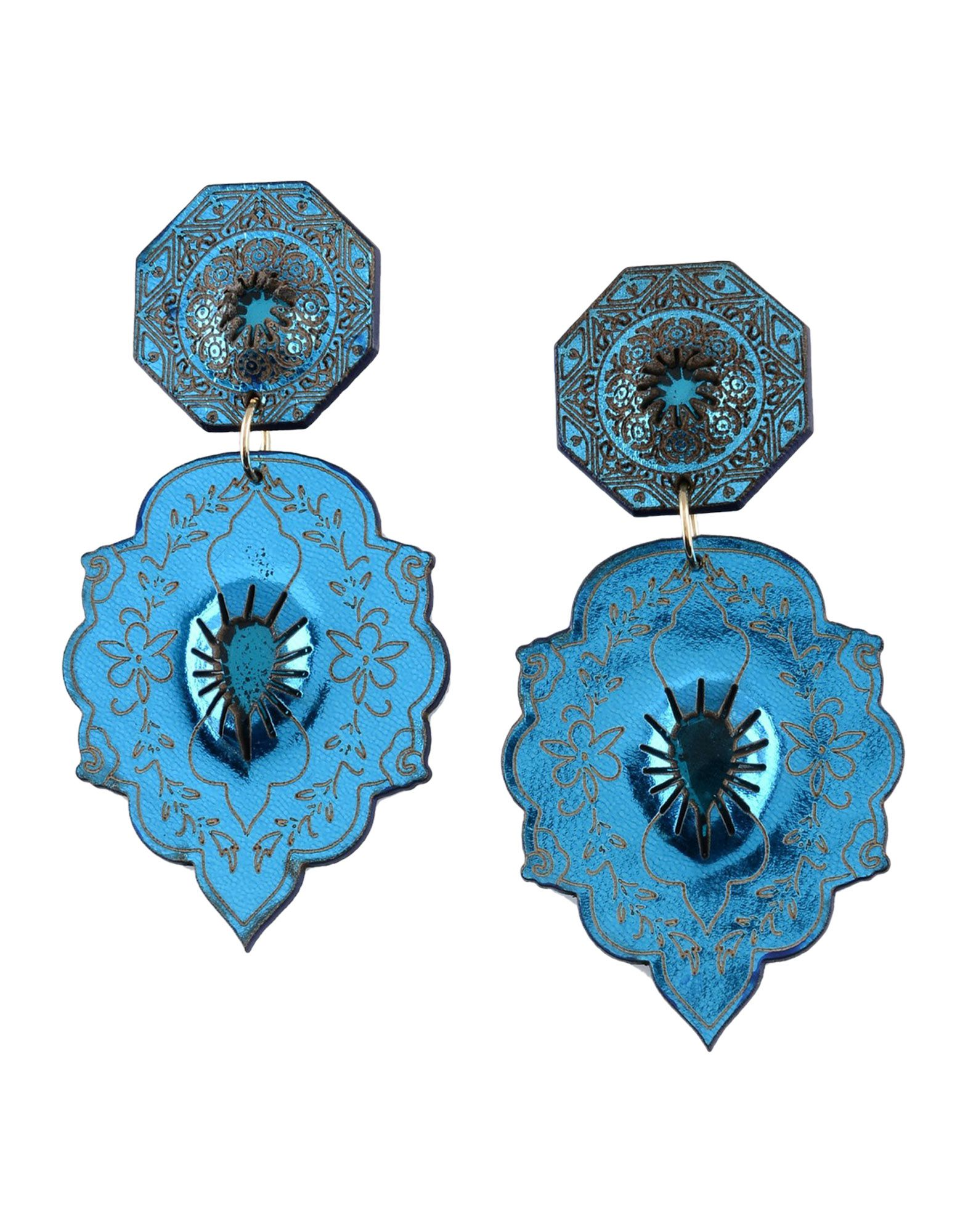 ALMALA Earrings in Bright Blue