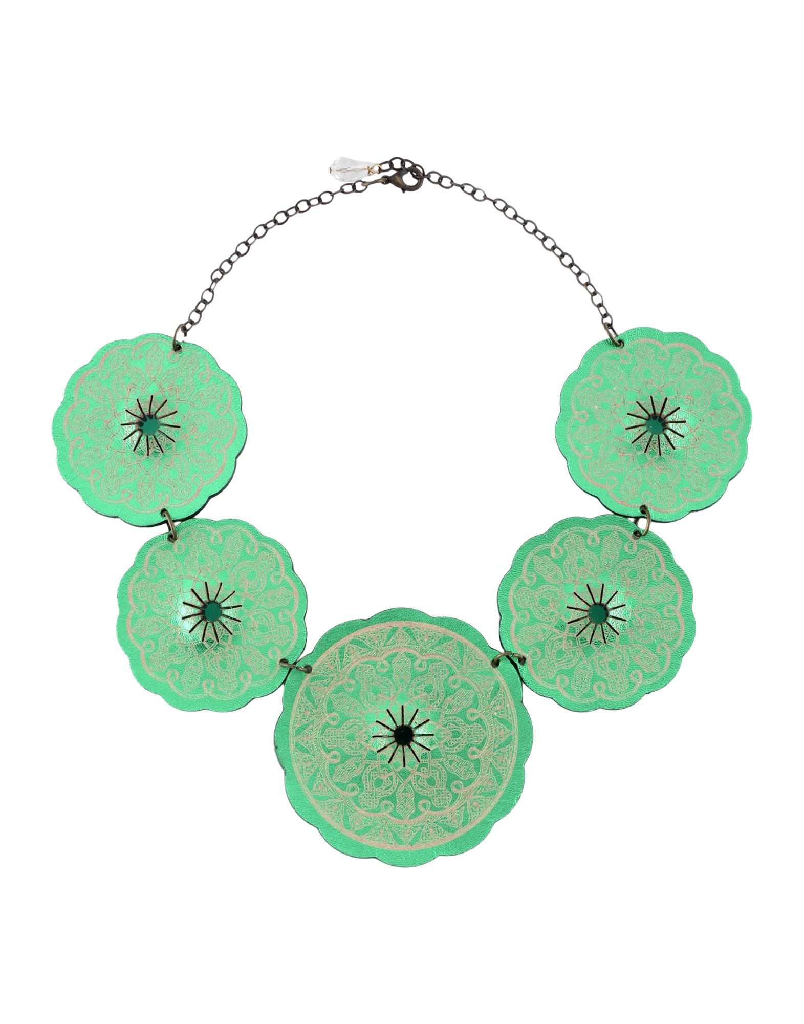 ALMALA Necklace in Green