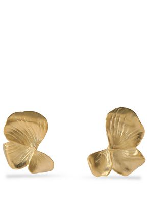 gold-tone-clip-earrings by kenneth-jay-lane