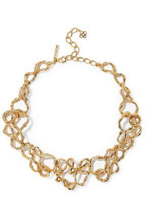 OSCAR DE LA RENTA Gold-tone necklace