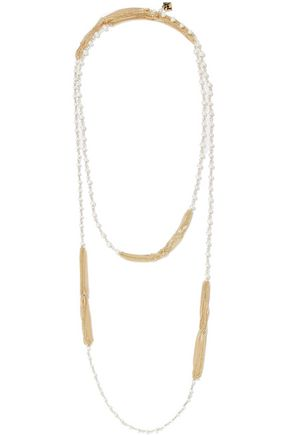 ROSANTICA Padova gold-tone freshwater pearl necklace