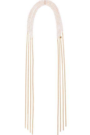 ROSANTICA Laziza gold-tone freshwater pearl necklace