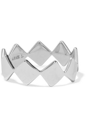 WOMAN SILVER-TONE RING SILVER