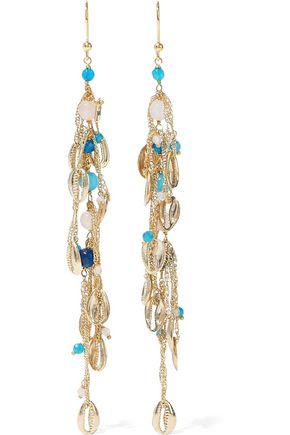 ROSANTICA Tortuga gold-tone bead earrings
