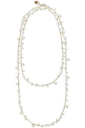 ROSANTICA Chimera gold-plated freshwater pearl necklace