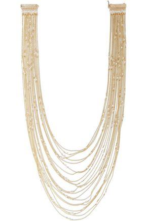 ROSANTICA Iliade gold-tone freshwater pearl necklace