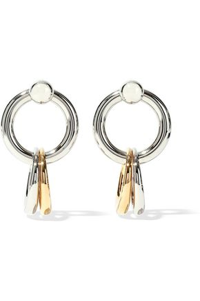 ALEXANDER WANG Silver and gold-tone earrings