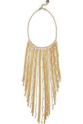 ROSANTICA Santa Barbara gold-tone freshwater pearl necklace