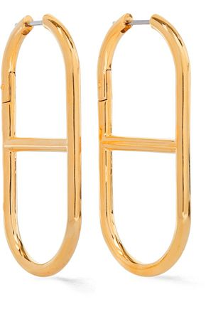 ALEXANDER WANG Gold-tone earrings