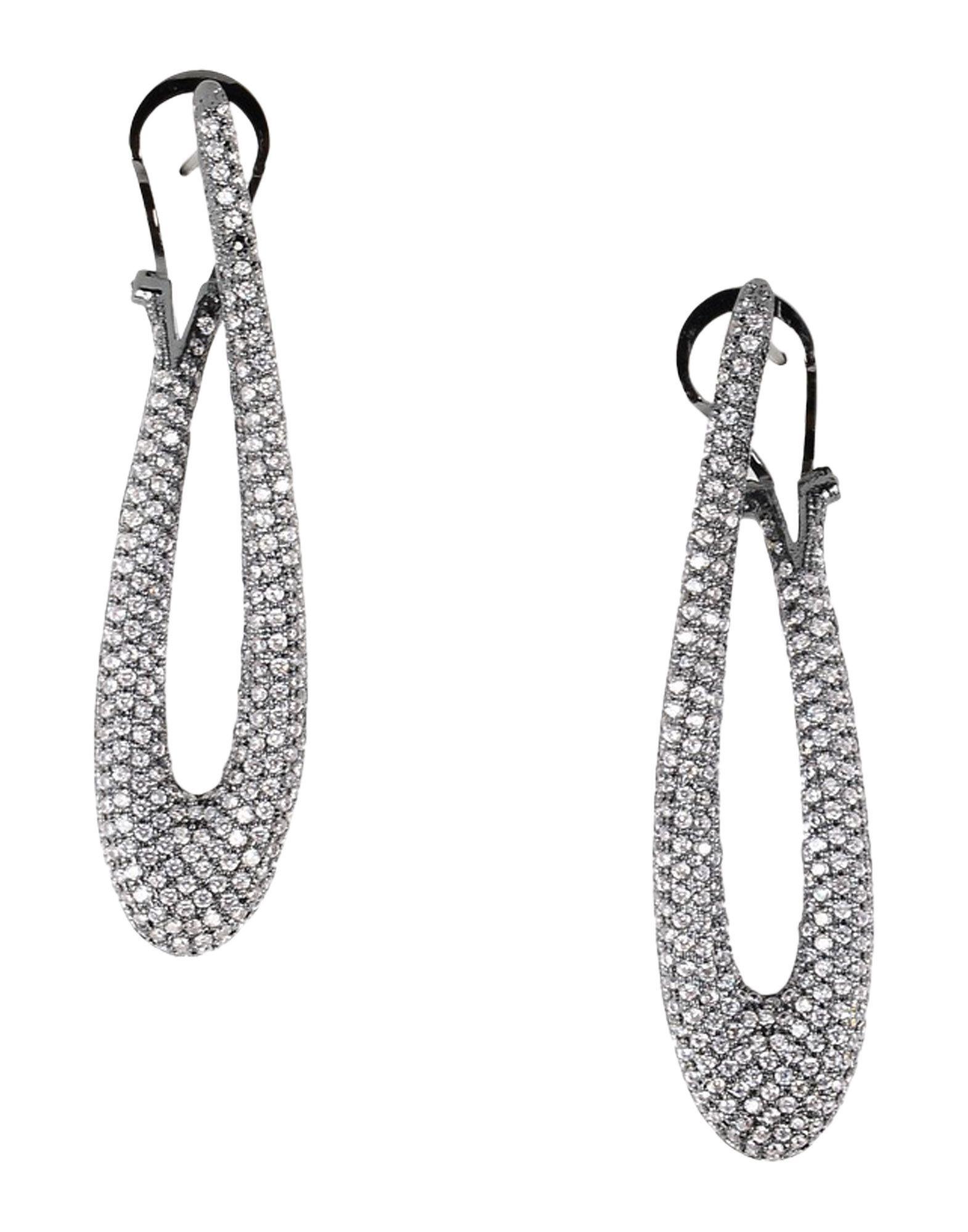 NOIR JEWELRY Earrings in White