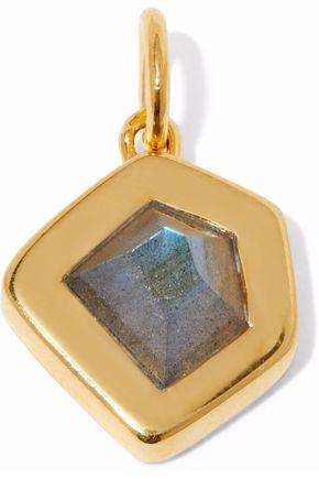 MONICA VINADER Petra 18-karat gold-plated labradorite pendant